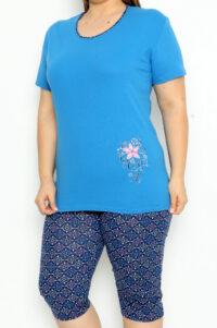 LAP 14253 niebieski pizamy plus size hurtownia_wolka