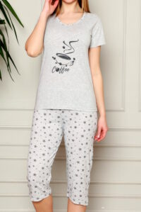 CHR 1269 piżama bawełaniana DUMAN pizamy hurtownia_wolka