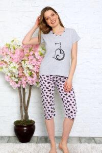 CHR 1272 hurtownia piżam damskich tanie piżamy damskie hurt producent piżam bawełnianych wólka hurtownia bielizny duman
