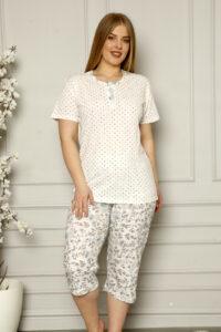 CHR 2259 hurtownia piżam damskich tanie piżamy damskie plus size hurt producent piżam bawełnianych wólka hurtownia bielizny