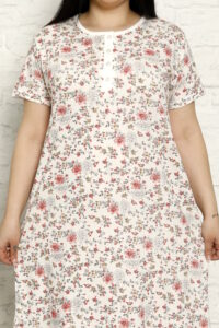 CHR 6258 bordo koszule nocne PLUS SIZE hurtownia bielizny wólka producent koszul nocnych koszule nocne hurt duman