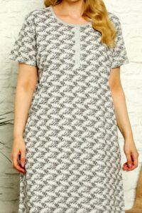 CHR 6259 koszule nocne PLUS SIZE hurtownia bielizny wólka producent koszul nocnych koszule nocne hurt duman