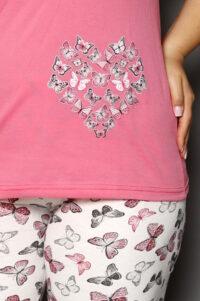 CHR 2264 roz hurtownia piżam damskich tanie piżamy damskie plus size hurt producent piżam bawełnianych wólka hurtownia