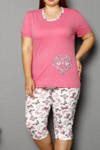 CHR 2264 roz hurtownia piżam damskich tanie piżamy damskie plus size hurt producent piżam bawełnianych wólka hurtownia bielizny