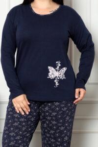CHR 2006 granat hurtownia piżam damskich tanie piżamy damskie plus size hurt producent piżam bawełnianych wólka hurtownia bielizny