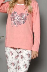 LAP 1018 morela hurtownia piżam tanie piżamy damskie hurt producent piżam bawełnianych wólka hurtownia bielizny