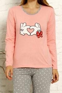 LAP 1021 roz hurtownia piżam tanie piżamy damskie hurt producent piżam bawełnianych wólka hurtownia bielizny