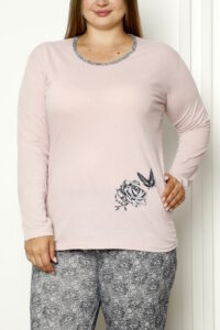CHR 2008 roz hurtownia piżam damskich tanie piżamy damskie plus size hurt producent piżam bawełnianych wólka hurtownia bielizny