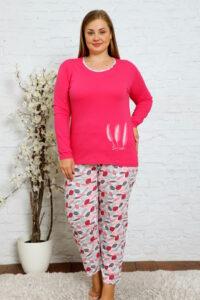 CHR 2012 fuksja hurtownia piżam damskich plus size tanie piżamy damskie plus size hurt producent piżam bawełnianych wólka hurtownia bielizny