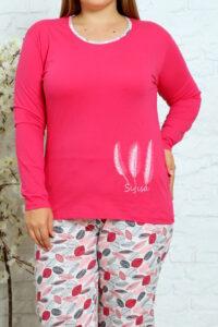 CHR 2012 fuksja hurtownia piżam damskich tanie piżamy damskie plus size hurt producent piżam bawełnianych wólka hurtownia bielizny