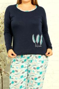 CHR 2012 granat hurtownia piżam damskich tanie piżamy damskie plus size hurt producent piżam bawełnianych wólka hurtownia bielizny