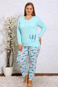 CHR 2012 mieta hurtownia piżam damskich plus size tanie piżamy damskie plus size hurt producent piżam bawełnianych wólka hurtownia bielizny