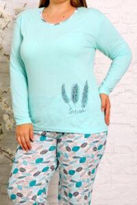 CHR 2012 mieta hurtownia piżam damskich tanie piżamy damskie plus size hurt producent piżam bawełnianych wólka hurtownia bielizny
