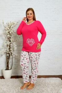 CHR 2013 fuksja hurtownia piżam damskich plus size tanie piżamy damskie plus size hurt producent piżam bawełnianych wólka hurtownia bielizny
