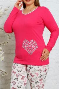 CHR 2013 fuksja hurtownia piżam damskich tanie piżamy damskie plus size hurt producent piżam bawełnianych wólka hurtownia bielizny