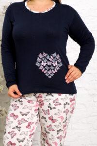 CHR 2013 granat hurtownia piżam damskich tanie piżamy damskie plus size hurt producent piżam bawełnianych wólka hurtownia bielizny